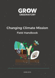 The cover of the Changing Climate Mission field handbook