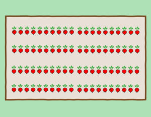 How to layout your radish