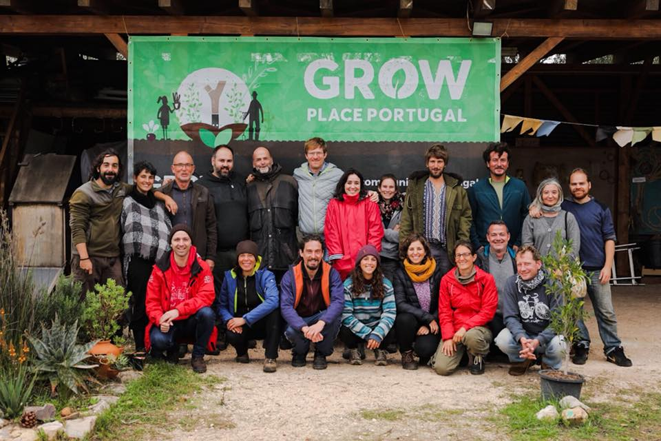 People from the GROW community in Portugal